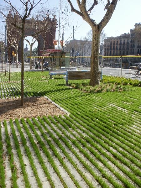 Acera permeable. Barcelona (I)
